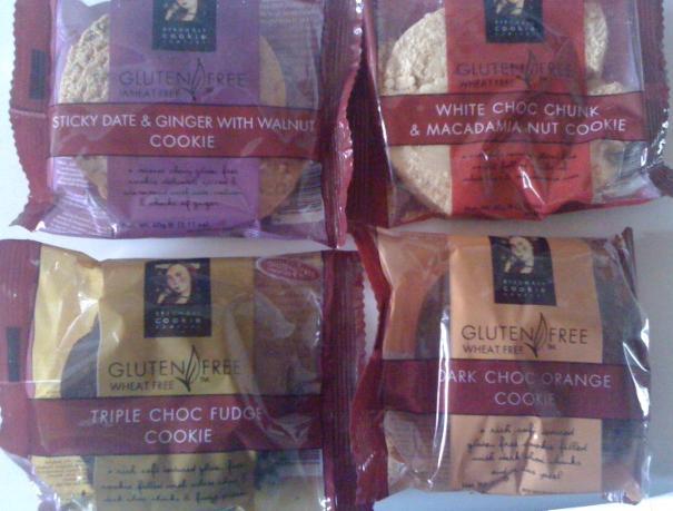 Gluten Free Cookies from Byron Bay Cookies