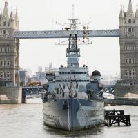 HMS Belfast Operations Room – London