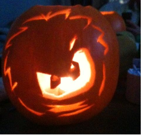 Club Penguin Puffle Pumpkin