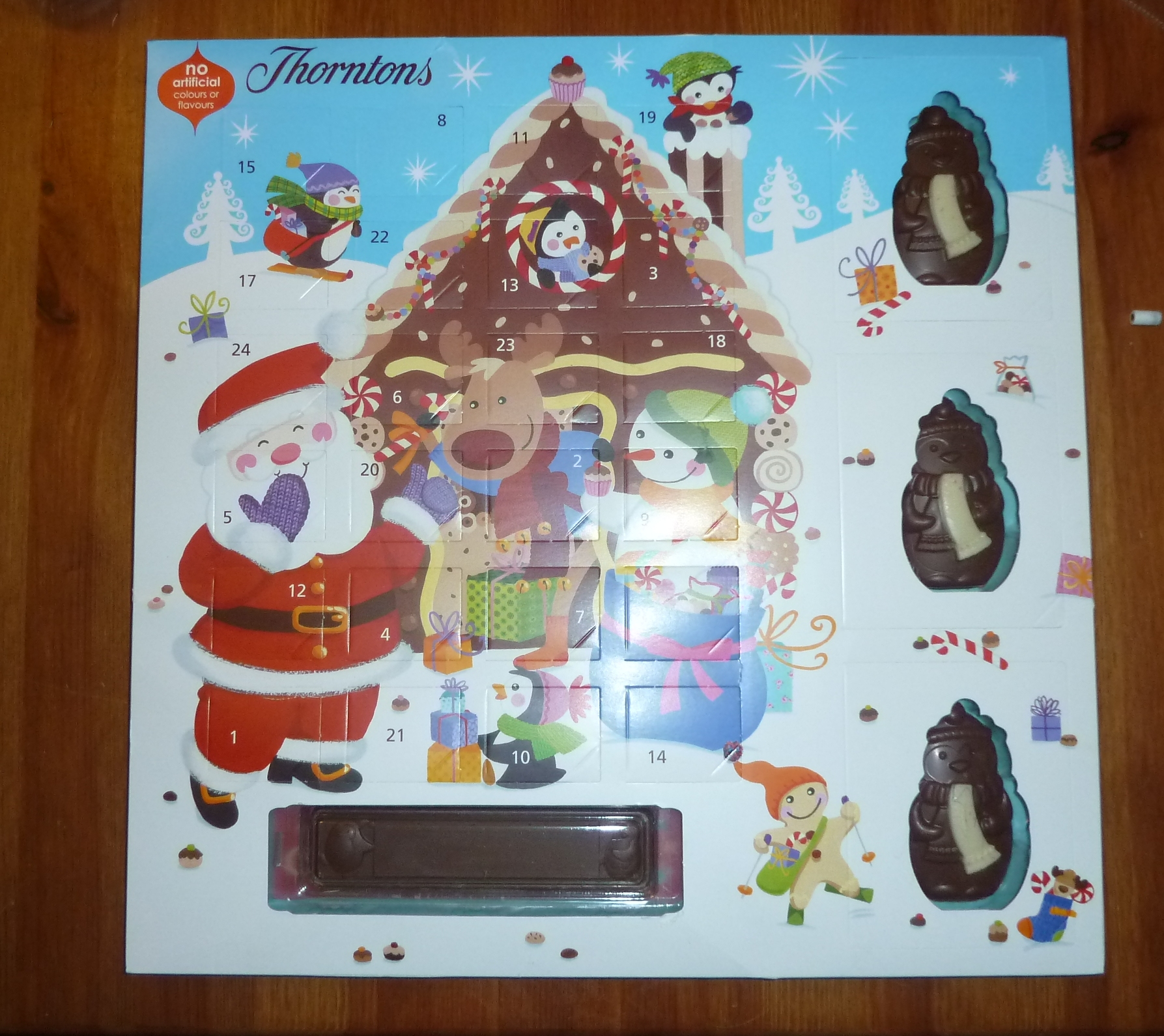 Advent Calendar 2016 Chocolate : Chocolate advent calendar from thorntons dragons and