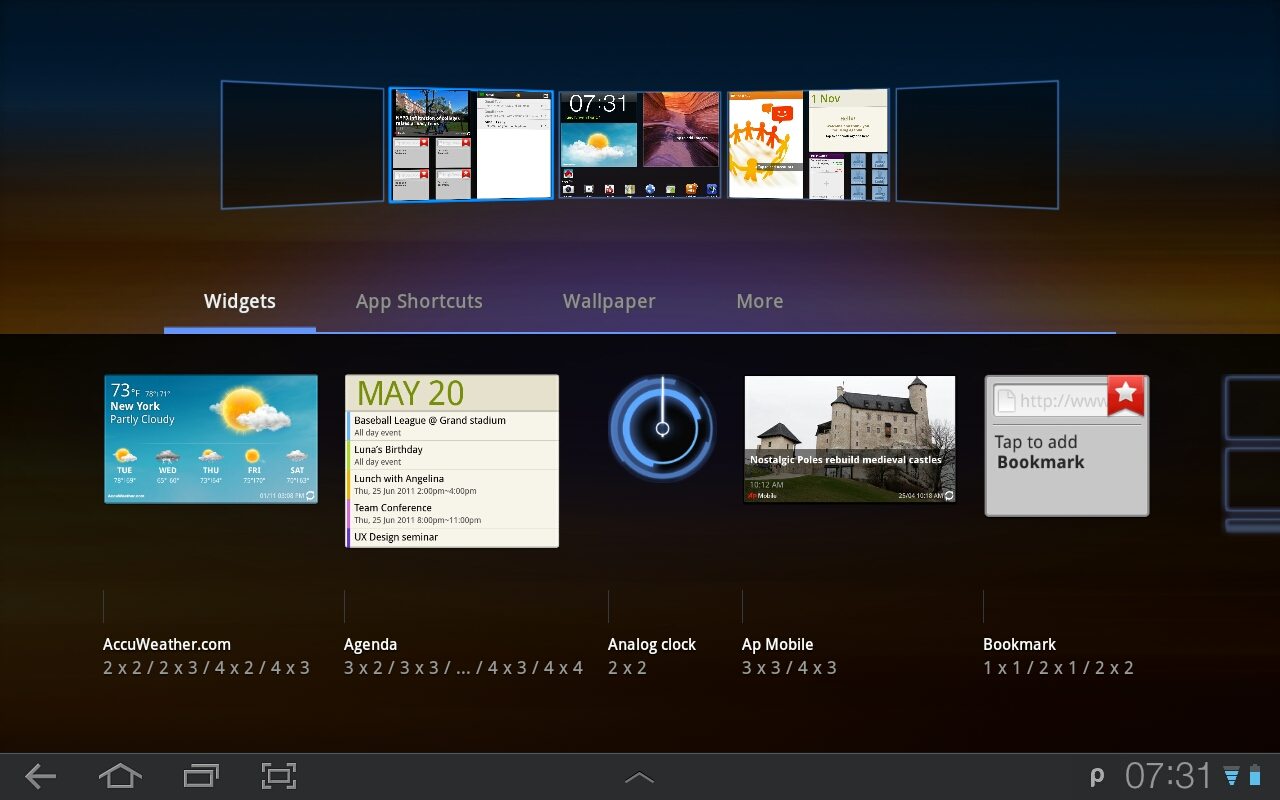 Samsung Galaxy Tab 10 1 Tips – Add and remove an app from