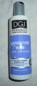 DGJ Organics Hangover Hair Conditioner