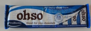 Ohso Probiotic Chocolate Review