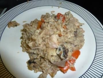 B;ue dragon rice bake