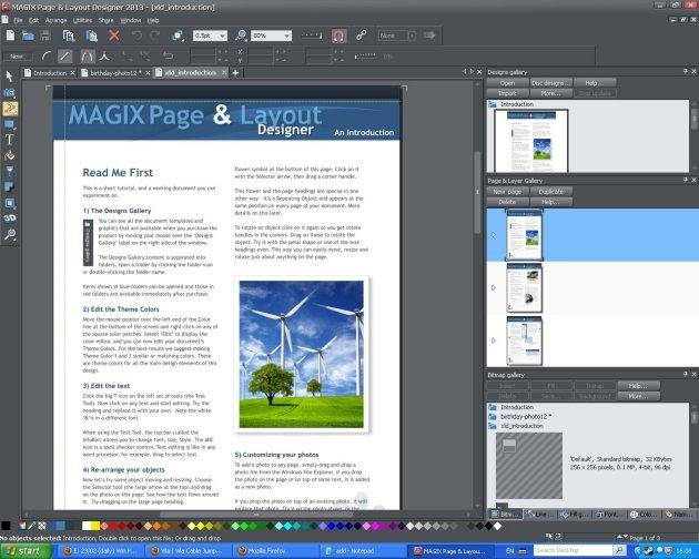 Magix Page & Layout Designer Review