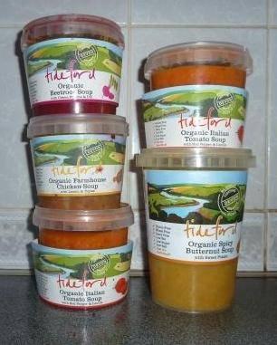 Tideford organics soups