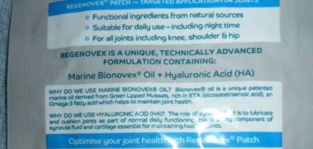 Regenovex Joint Health Range Review