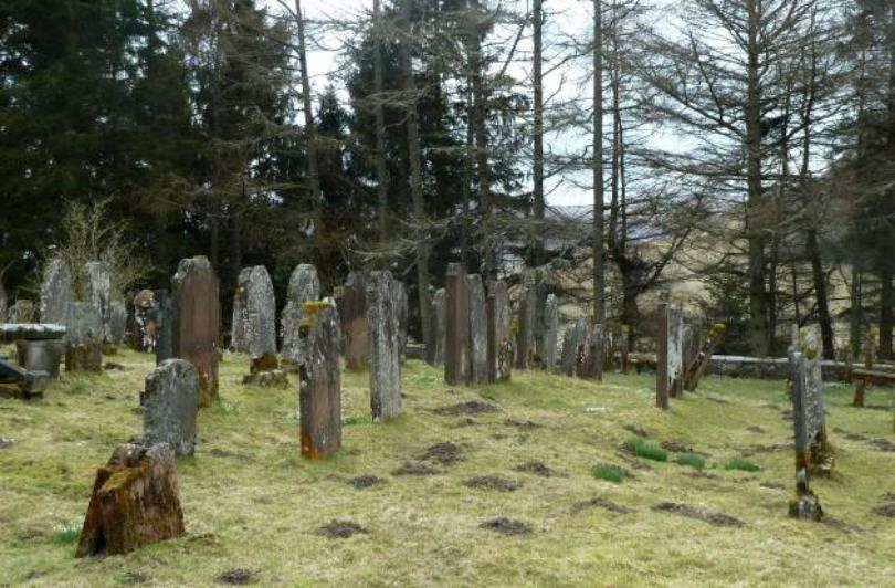 Graveyard at Bentpath