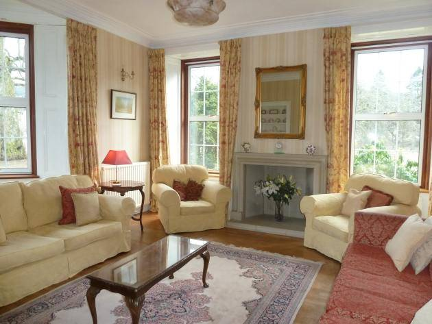 Living room at Westerkirk Mains