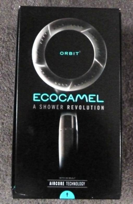 Ecocamel shower head in box