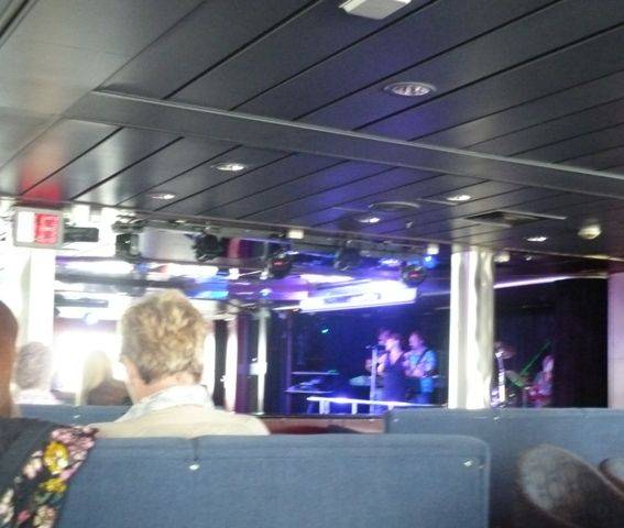 On board DFDS seasways