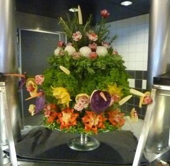DFDS Seaways flower arrangement