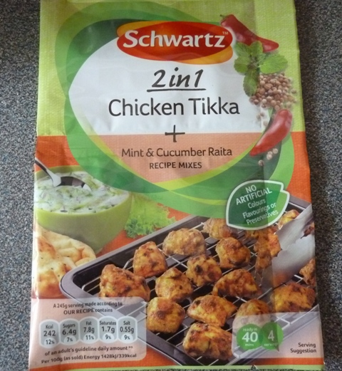 Schwartz 2 in 1 Chicken Tikka