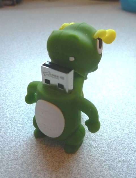 DragonUSB A Funky Dragon USB Stick