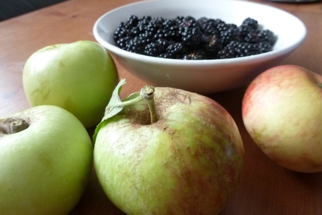 Apples and Blackberries