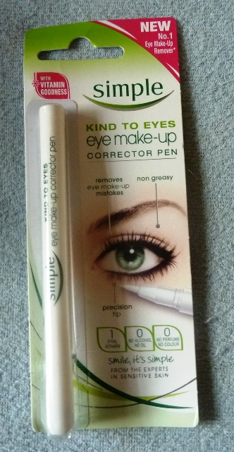 SimpleMakeUpCorrector Simple Eye Make Up Corrector Pen Review