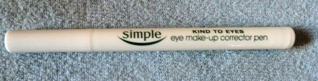 SimpleMakeUpCorrector2 Simple Eye Make Up Corrector Pen Review