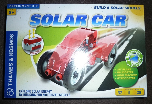 SolarCar Solar Car Science Kit Review