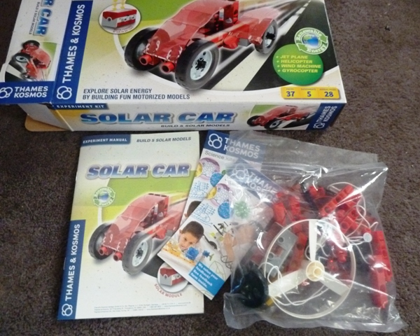 SolarCar2 Solar Car Science Kit Review