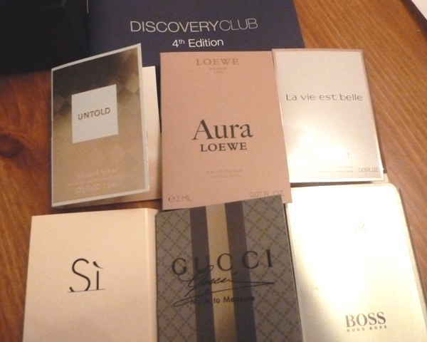 DiscoveryClub2 Discover New Perfumes With The Discovery Club