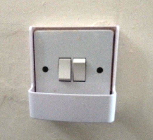 Installing light switch timer