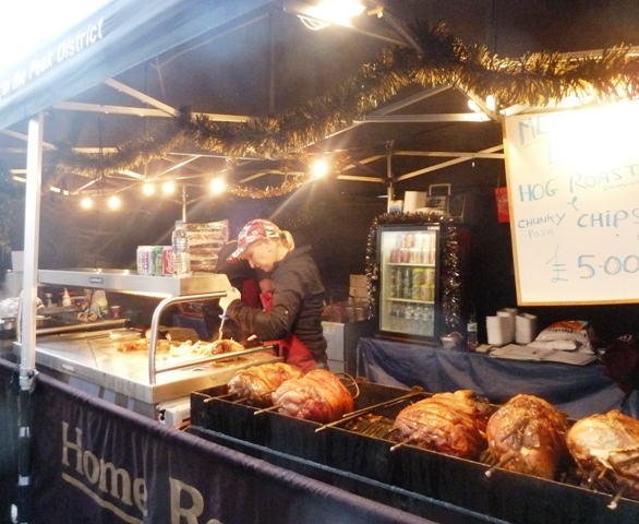 Newcastle Christmas Market Hog Roast