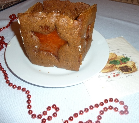 Gingerbread tealight