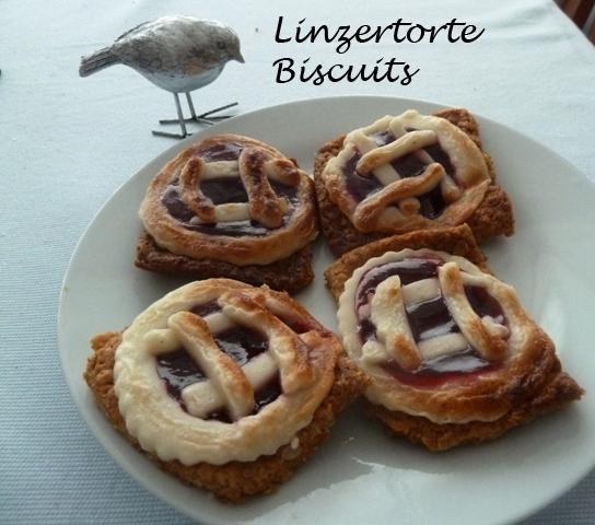 Linzertorte biscuits