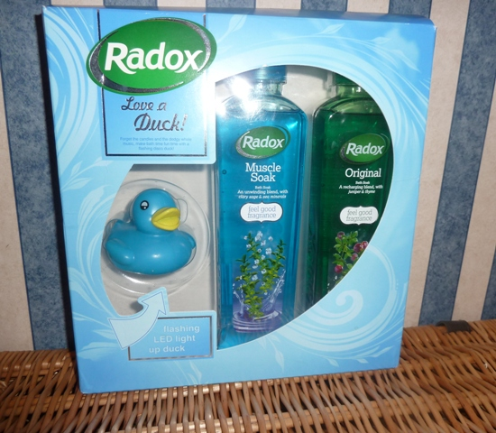 RadoxGiftSet Radox Gift Sets: A Gift Of Relaxation