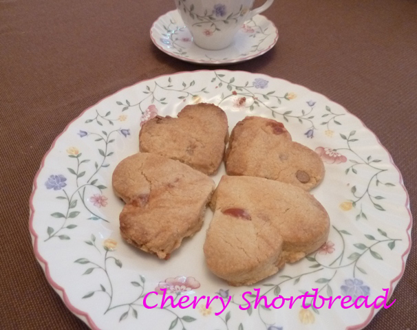 CherryShortybread3 copy Cherry Shortbread Recipe