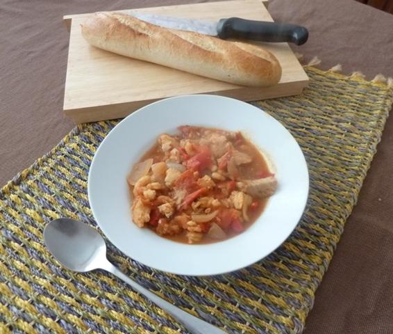 Mediterreanean fish stew