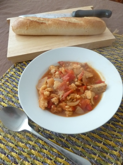 Mediterrean Fish Stew
