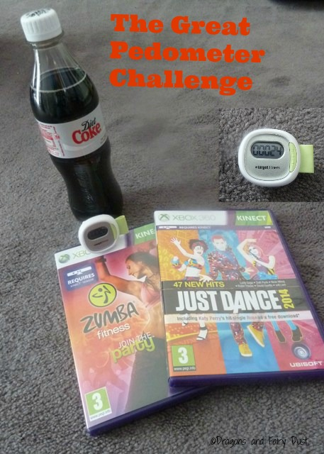 The Great Coca Cola Pedometer Challenge #shop