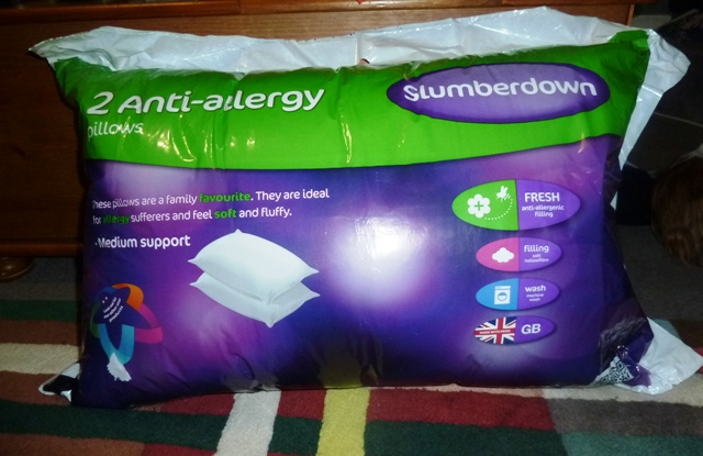 Slumberdown Anti Allergy pillows