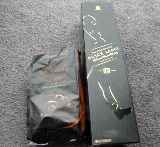 Thorntons Whisky hamper