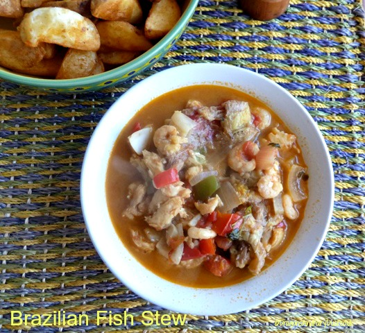 Brazilian Fish Stew - Dragons and Fairy Dust