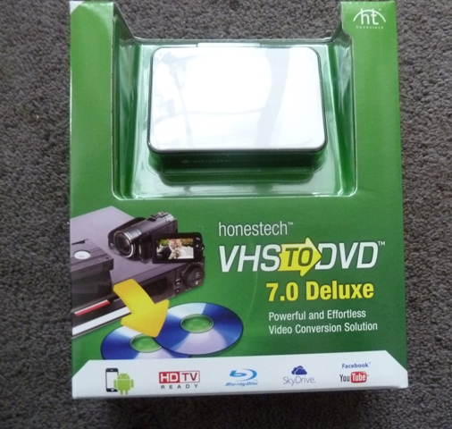 Honestech VHS to DVD 7.0 Deluxe Review