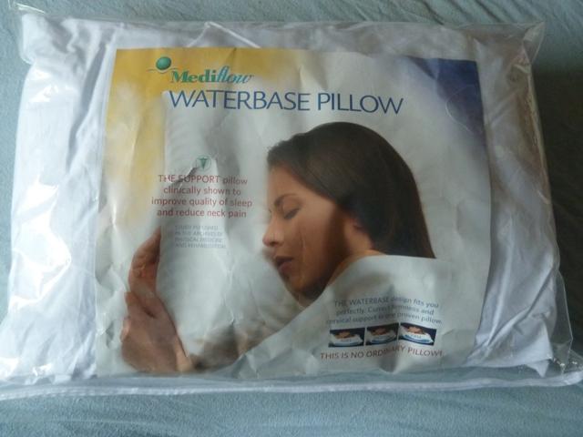 mediflow waterbase pillow instructions