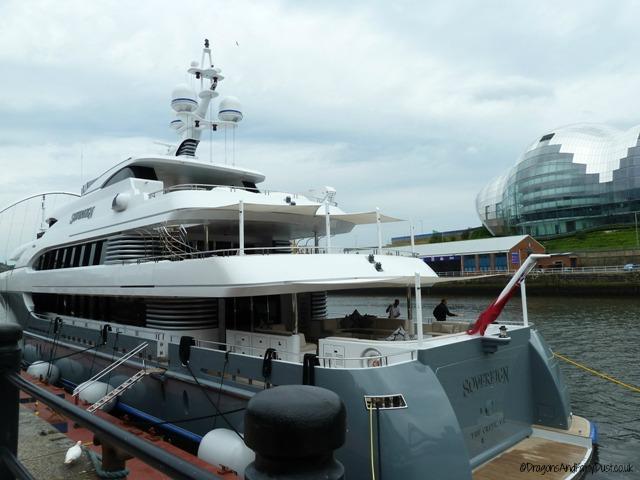 Superyacht sovereign