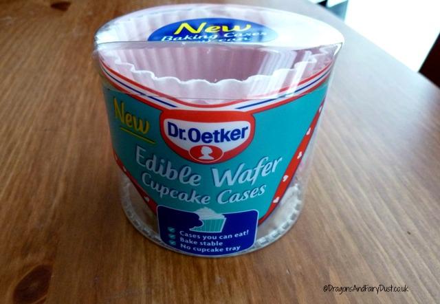 Dr Oetker Edidle cupcake cases