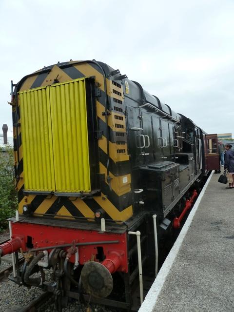 Stephensons railway museum