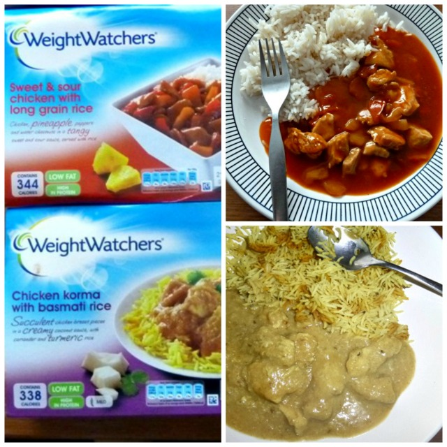 Weightwatchers ready meals