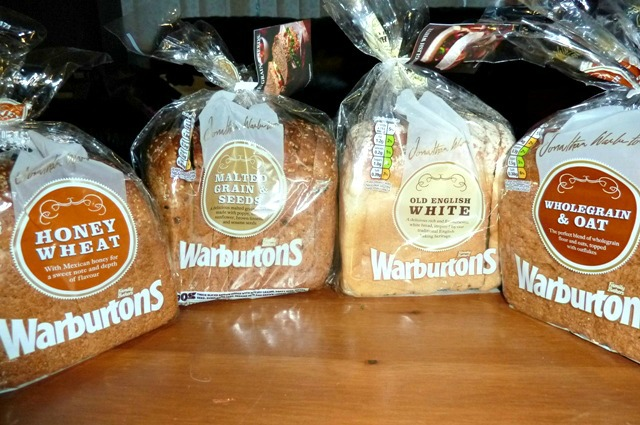 Warburtons special loaves