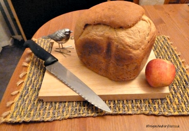 Cider apple bread