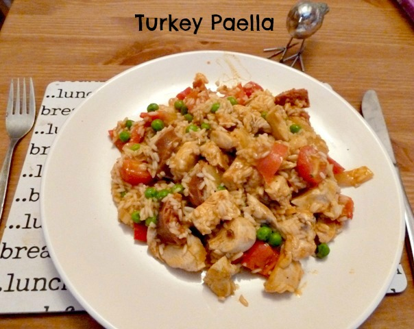 Turkey Paella - Dragons and Fairy Dust