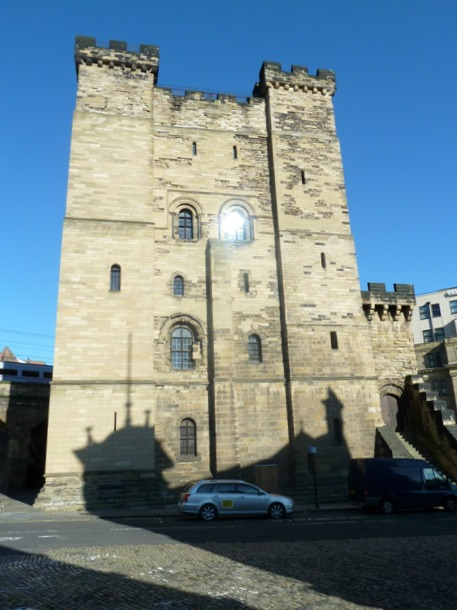 A visit to Newcastle Castle