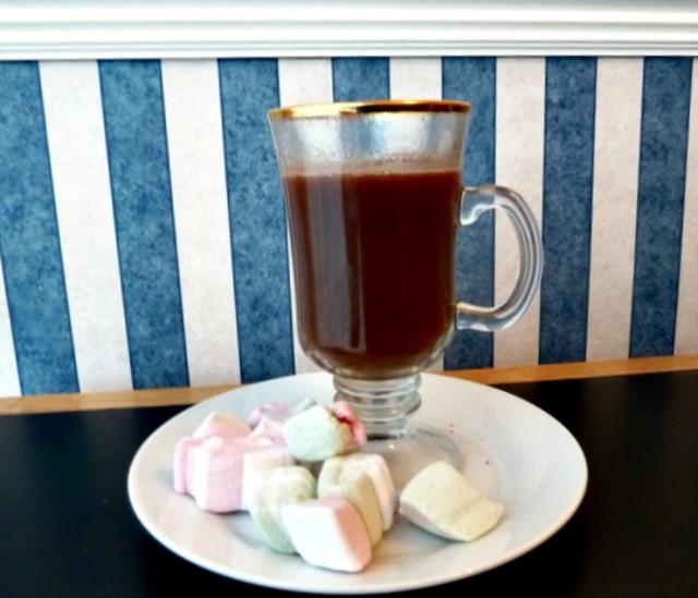 Weight watcher hot chocolate