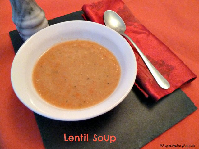 ... soup that is low in calories and filling then lentil soup is perfect