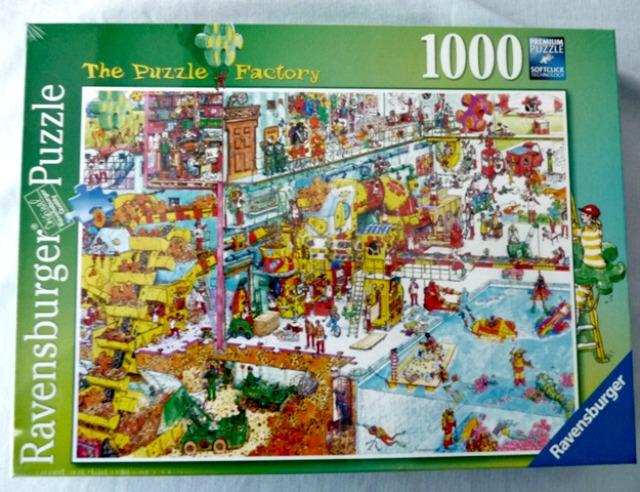 Ravensburger puzzle factory