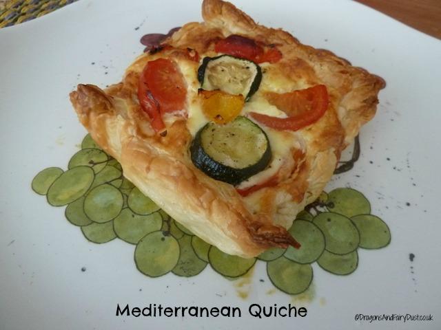 Mediterranean Quiche